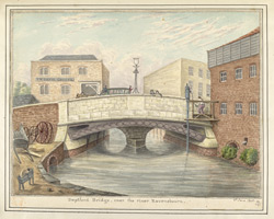 Deptford Bridge, over the river Ravensbourn